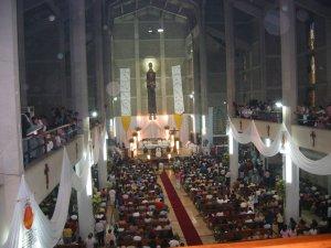 La Iglesia Parroquial de Huatusco estaba llena al tope.