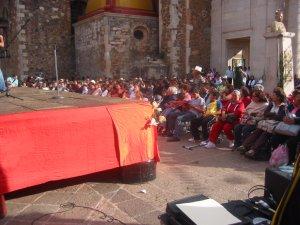 En honor al Padre Lino, depués de la comida,  siguió un Festival ...