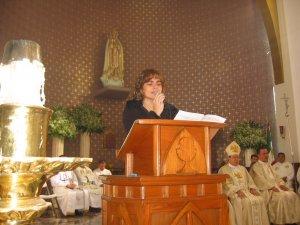 """Canto del Salmo Responsorial (138):<br /> """"Te doy gracias, Señor, porque me has formado maravillosamente""""."""