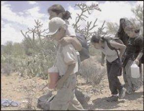 Él nunca abandona a sus hijos y hijas, que van caminando por el mundo... <br />