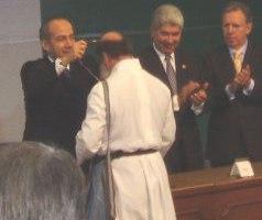 P. Flor Maria Rigoni, Misionero Scalabrininiano PREMIO NACIONAL DE LOS DERECHOS HUMANOS 2006