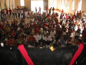 Jóvenes de Pascua Juvenil de la Parroquia de San Antonio de Padua, Tlajomulco, Jal.