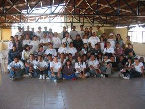 Jóvenes de la Parroquia de Nuestra Señora de Guadalupe, Col. Lomas del Camichín, Tonalá, Jal.