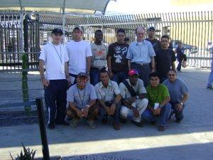 La visita a la puerta fronteriza