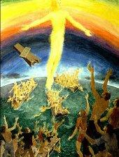 Celebrando la Asencion del Señor a los cielos...