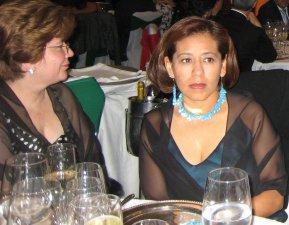 Las abogadas Maria Eugenia Trillo e Ileana, presentes para acompañar al amigo y Padre