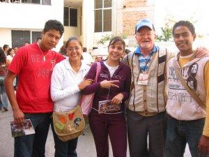 Jóvenes de la Parroquia de Nuestra Señora del Refugio, Col. Guadalupe Ejidal, Tlaquepaque, Jal.