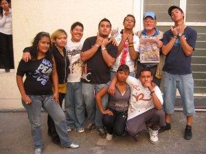 Jóvenes de la Parroquia de Santiago Apóstol, Col. Balcones de Oblatos, Guadalajara, Jal.