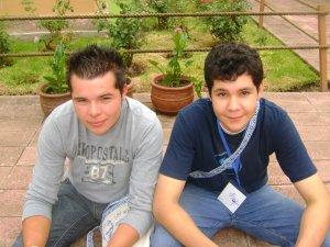 Adolfo de Zapotlanejo y Yoni de Ahualulco de Mercado, Jalisco