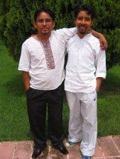 Estas caras vienen de Oaxaca.