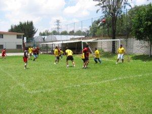 La amplia instalaciones del Seminario se prestaron para los momentos de esparcimiento y de juego.