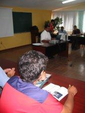 El Padre Ernesto nos presentó el Programa Formativo del Seminario San Carlos de Guadalajara, Jal.