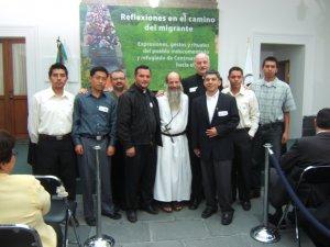 La Comunidad Scalabriniana de México se hizo presente con los Padres Eduardo y Fernando, además de algunos seminaristas. De Chicago el P. Claudio Holzer, parroco y defensor de Migrantes en la Unión Americana.