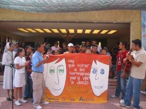 Concurso de porras y mantas de los grupos asistentes