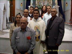 P. Juan Luis y su familia.