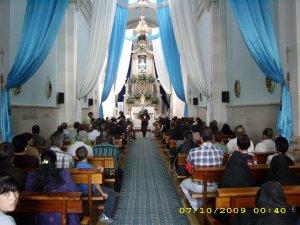 Las personas se mostraban contentas y muy agradeciadas con Dios por el Don de la Vocación de P. Juan Luis.