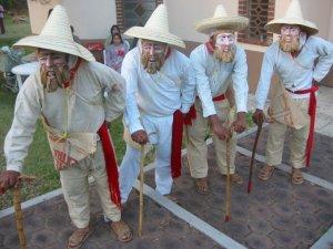 No podía faltar  el baile típico de Michoacán...<br />