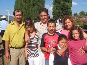 Familiares del Seminarista Jesús Alejandro.