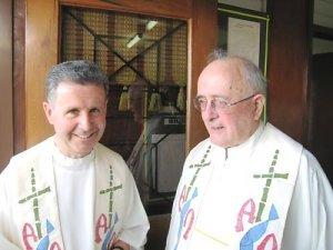 Fr. Joseph and Fr. Isaia