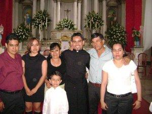 Marcos Manuel con su Familia.