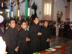 Con estos cuatro Neo-Profesos llegan a más de 70 el Grupo de Misioneros de San Carlos Mexicanos y Guatemaltecos.