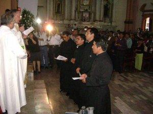 Entrega de la Reglas de Vida de la Congregación Scalabriniana.