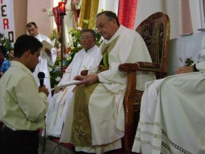 Marco Manuel López Bustamante de Miahuatlán, Oax. ha sido destinado como misionero estudiante de Teología a San Paulo, Brasil.