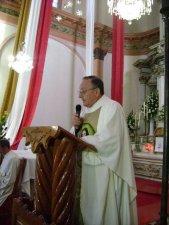 En su Homilía el Padre Antonio Tapparello, Padre Provincial de la Provincia de San Juan Bautista, exortó a los Novicios a entregarse con entrega y alegría a Cristo Misionero y Migrante.