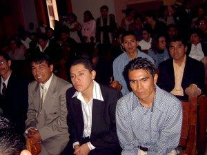 Seminaristas presentes.