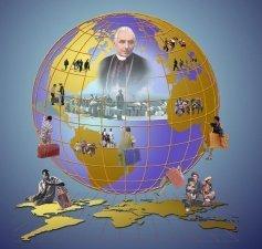 El sueño de un Mundo sin Fronteras del Beato Juan Bautista Scalabrini se hace una vez más realidad.