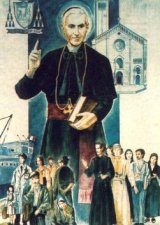 """El Papa Juan Pablo II, el 9 de Noviembre d 1997, lo proclamó Beato, presentándolo como """"padre y guía seguro"""" de los Migrantes..."""