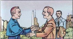 En noviembre de 1094 llegó a Buenos Aires, Argentina, donde pudo ver , después de más de 40 años, a su hermano Pedro.