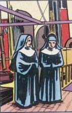Antes de morir el Padre Marchetti convenció a su madre y a su hermana a unirse a la nueva Congregación que iba a fundar: las Misioneras de San Carlos.