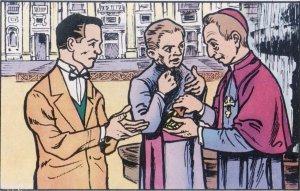 Su vida era hecha también de pequeñas anédoctas. En Roma un hombre le pidió limosna. Le dio cinco liras, mucho dinero  en aquel entonces. El hombre asombrado balcuceó: ¡Pero mire, yo soy judío! Y el obispo como respuesta le dio otras cinco liras.