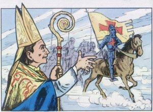 Celebró los 800 años de la Primera Cruzada, promovida por el Papa Urbano II precisamente en Piacenza en 1095.