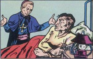 Ya había conseguido el aprecio de todos. Un masón enfermo  juraba que habría disparado contra el primer sacerdote que se le acercaba. Sin embargo Mons. Scalabrini lo visitó y lo confesó.