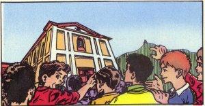 """Después de dos años de Rector, fue nombrado Párroco de una muy poblada parroquia en la orilla de la ciudad de Como. Su primera preocupación fue organizar la Acción Católica, la Escula de Catecismo, el """"Oratorio""""..."""