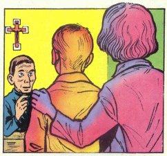 A los 18 años entró al Seminario San Abundio de Como, Italia.
