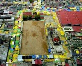 Area Deportiva en el Barrio de Tepito
