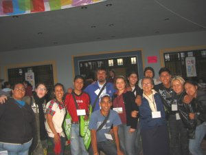 P. Ernesto con el grupo de líderes de los grupos juveniles de la Diócesis de Zamora