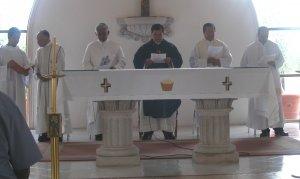P. Fernando celebró la misa de clausura y de acción de gracias por la familia de operadores al servicio de la pastoral migratoria