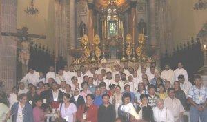 de visita a la basilica de Ntra. Sra. de San Juan