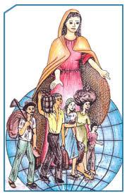 La Virgen María acompaña a los migrantes en su caminar.  Misioneros Scalabrinianos